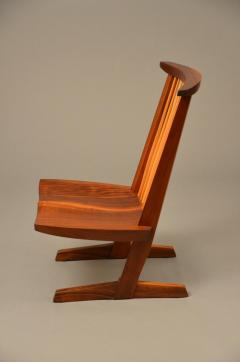 George Nakashima Pair of Conoid Lounge Chairs - 4100