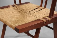George Nakashima Grass Seated Chairs - 4106
