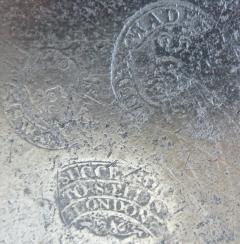 8th Century English Pewter Sadware Dish - 677423