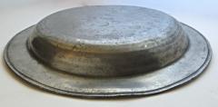 8th Century English Pewter Sadware Dish - 677424