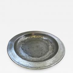 8th Century English Pewter Sadware Dish - 807163