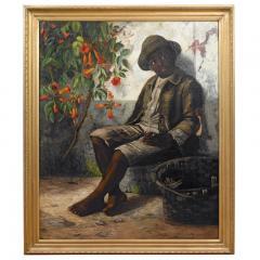 William Verplanck Birney Portrait of a Young Black Boy - 1436