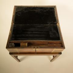 A 19th C English lap desk on wooden stand circa 1860 - 2129184