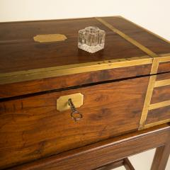 A 19th C English lap desk on wooden stand circa 1860 - 2129188