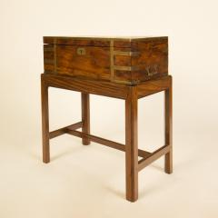 A 19th C English lap desk on wooden stand circa 1860 - 2129190