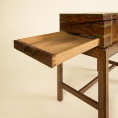 A 19th C English lap desk on wooden stand circa 1860 - 2129191
