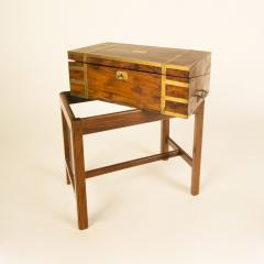 A 19th C English lap desk on wooden stand circa 1860 - 2129192