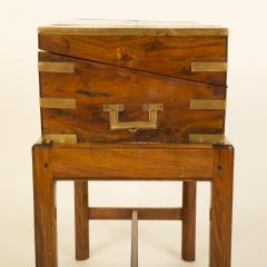 A 19th C English lap desk on wooden stand circa 1860 - 2129194