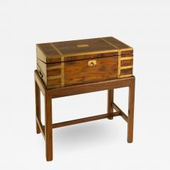 A 19th C English lap desk on wooden stand circa 1860 - 2130901