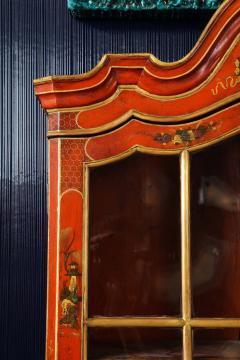 A 19th Century English Red Lacquer Secretary - 1459120