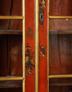 A 19th Century English Red Lacquer Secretary - 1459124