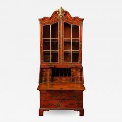 A 19th Century English Red Lacquer Secretary - 1461884