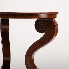 A 19th Century Irish Empire mahogany center table circa 1830 - 1660967