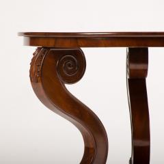 A 19th Century Irish Empire mahogany center table circa 1830 - 1660968