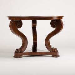 A 19th Century Irish Empire mahogany center table circa 1830 - 1660970