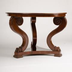 A 19th Century Irish Empire mahogany center table circa 1830 - 1660972