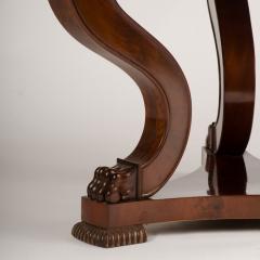 A 19th Century Irish Empire mahogany center table circa 1830 - 1661005
