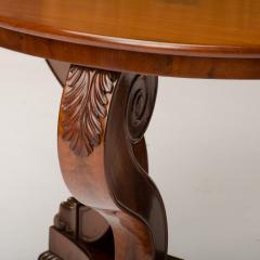 A 19th Century Irish Empire mahogany center table circa 1830 - 1661018