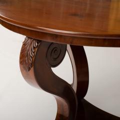 A 19th Century Irish Empire mahogany center table circa 1830 - 1661040