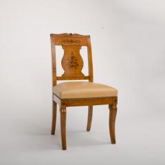 A 19th Century burlwood chair in the Biedermeier style - 1646978