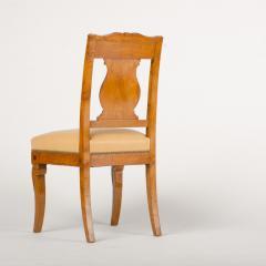 A 19th Century burlwood chair in the Biedermeier style - 1646981