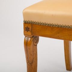 A 19th Century burlwood chair in the Biedermeier style - 1646983