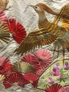 A Beautiful Embroidered Vintage Japanese Ceremonial Kimono - 426094