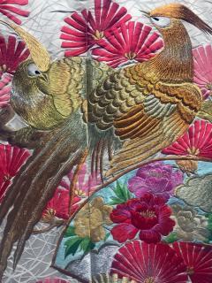 A Beautiful Embroidered Vintage Japanese Ceremonial Kimono - 426095
