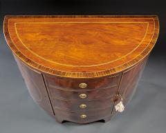 A Beautiful Georgian Mahogany Demi Lune Cabinet - 588745