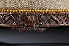 A Beautifully Carved Chippendale Period Sofa - 554955