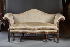 A Beautifully Carved Chippendale Period Sofa - 554975