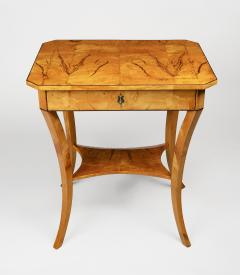 A Biedermeier Occasional Table - 1185418