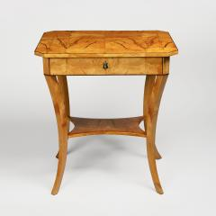 A Biedermeier Occasional Table - 1185419
