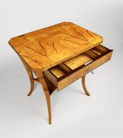A Biedermeier Occasional Table - 1185422