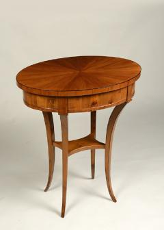 A Biedermeier Single Drawer Occasional Table - 457407