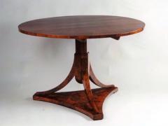 A Biedermeier Tilt Top Pedestal Table - 1953791