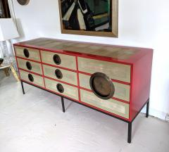 A Bronze Shagreen and Lacquer Sideboard by Kenneth Dipaola - 630262