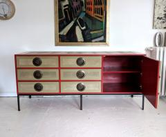 A Bronze Shagreen and Lacquer Sideboard by Kenneth Dipaola - 630263