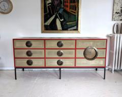 A Bronze Shagreen and Lacquer Sideboard by Kenneth Dipaola - 630267