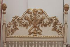 A Carved Painted and Gilded Wood Catalonian Bed - 278030