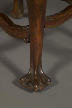 A Carved Rococo Period Hardwood Armchair Of Large Scale - 1701649