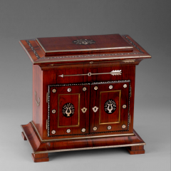 A Charles X Inlaid Rosewood Necessaire de Voyage French ca 1830 - 44469