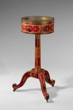 A Charles X Tooled leather Lamp Table - 934021