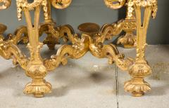 A Chinese Brass Mounted Lacquer Cabinet on a Charles II Gilt wood Stand - 992295