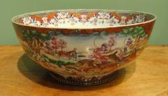 A Chinese Export Porcelain Hunt Bowl - 1074280