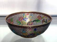 A Chinese Plique a Jour Bowl - 1041001