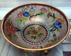 A Chinese Plique a Jour Bowl - 1041006