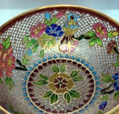 A Chinese Plique a Jour Bowl - 1041007