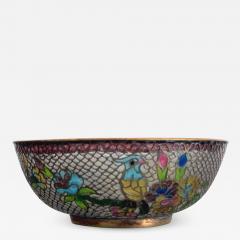 A Chinese Plique a Jour Bowl - 1042235