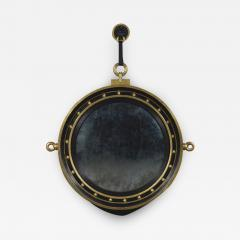 A Circular Convex Mirror Complete With Original Lion Mask - 1569519